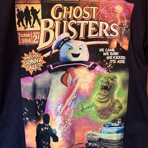 Ghost Busters Comic Cover Unisex SZ XS T Shirt